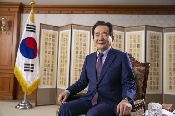 South Korea Ex-PM Becomes First Major Candidate for President