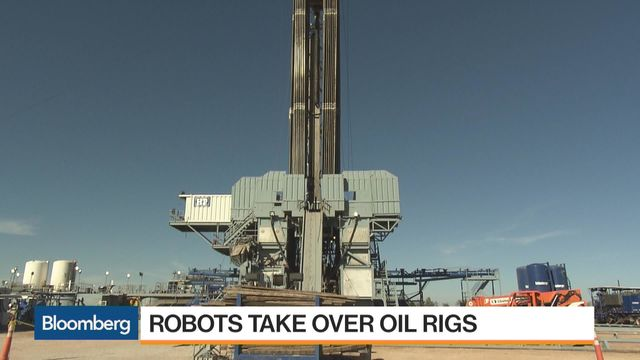 Robots Are Taking Over Oil Rigs