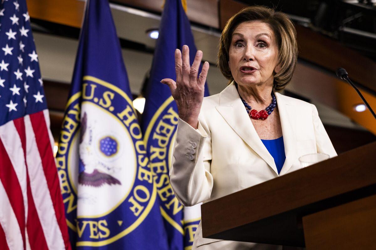 Pelosi Faces Restive Caucus as Senate Infrastructure Talks Drag