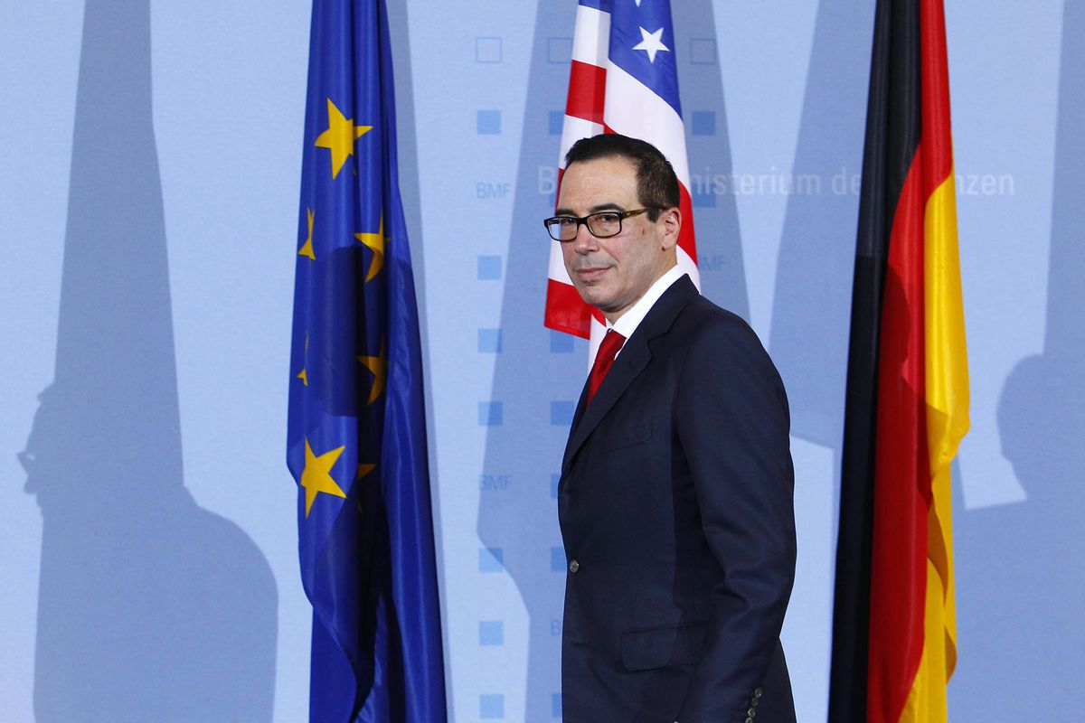 Mnuchin May Soften Brazen U.S. Trade Talk in His G-20 Debut