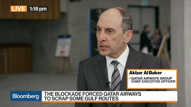 Qatar Airways Group CEO Akbar Al Baker discusses the economic boycott of Qatar and his long-term business strategy