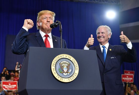 Trump-Backed S.C. Governor McMaster Survives GOP Primary Runoff