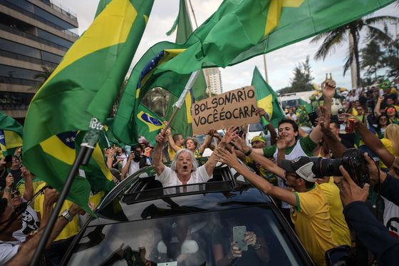 Brazil Far-Right Candidate Takes Strong Lead in Vote Tally