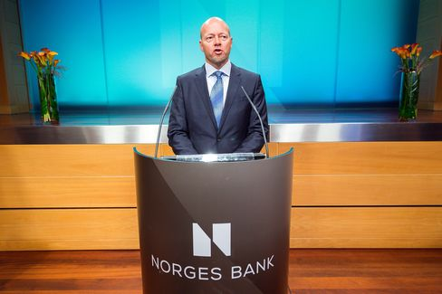 CEO of Norges Bank Investment Management (NBIM) Yngve Slyngstad.