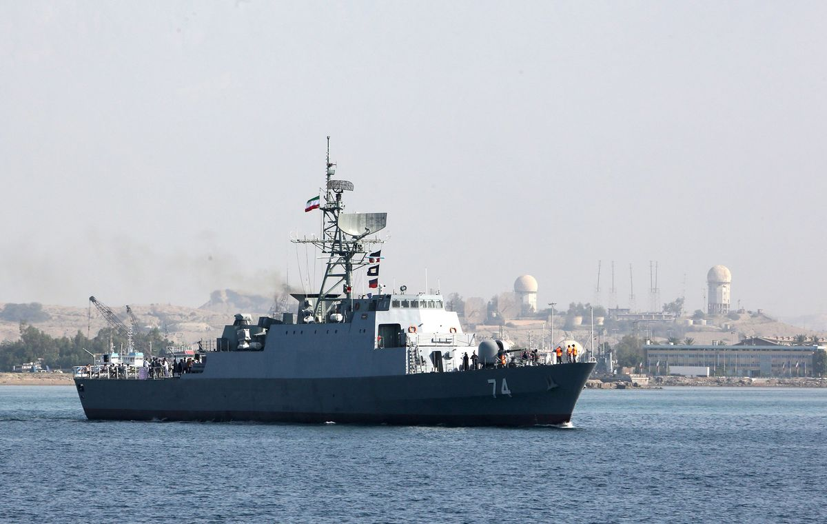 Iran Says It Will Hold Naval Drill With Russia, China 'Soon'