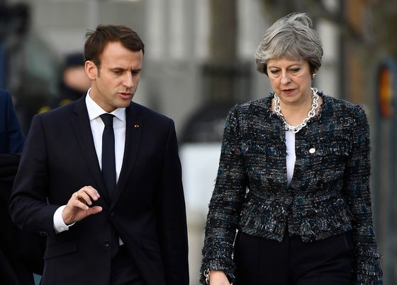 U.K. Sees Macron as Key to Getting Brexit Deal With EU