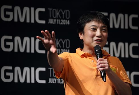 Gumi Chief Executive Officer Hironao Kunimitsu