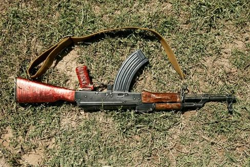 Banned by U.S. Sanctions, AK-47s Are Going, Going ??? Gone