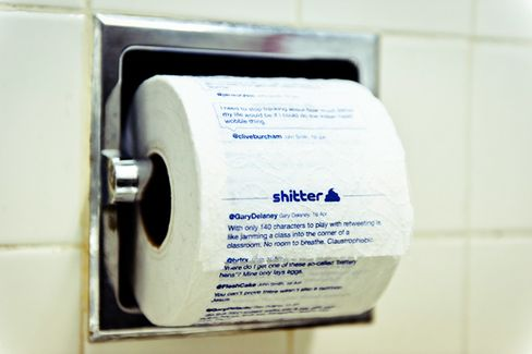 Q&A: Founder of 'Sh-tter,' the Tweets-to-Toilet Paper Company