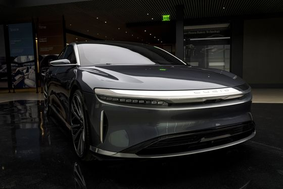 Saudi-Backed Lucid in Talks for Electric Car Factory Near Jeddah