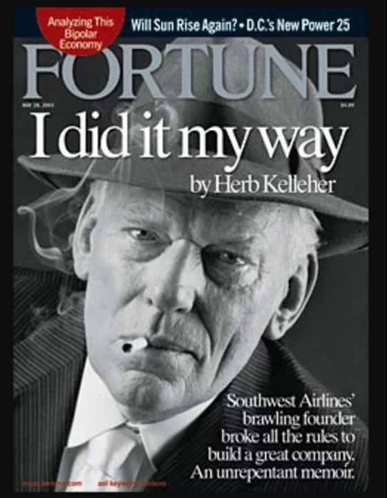 Only Herb Kelleher Could Make an Airline Revolution This Fun