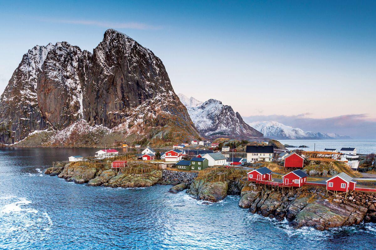 высокое лофотенские острова норвегия что посмотреть импульсе вспышки