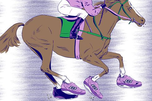 Skechers Puts Big Money???if Not Its Shoes???on California Chrome