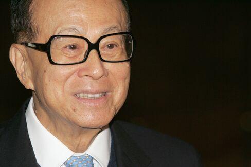Cheung Kong (Holdings) Ltd. Chairman Li Ka-shing