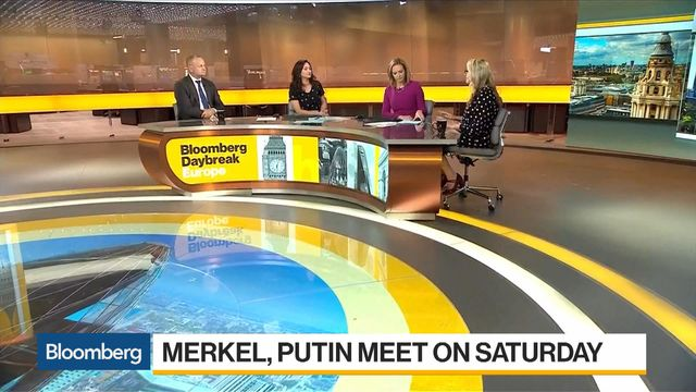 Merkel and Putin Form Marriage of Convenience Forged by Trump