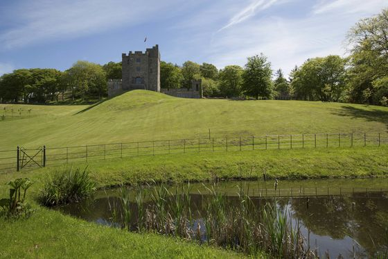 This $2.9 Million Welsh Castle Comes Complete With Fire-Breathing Dragon