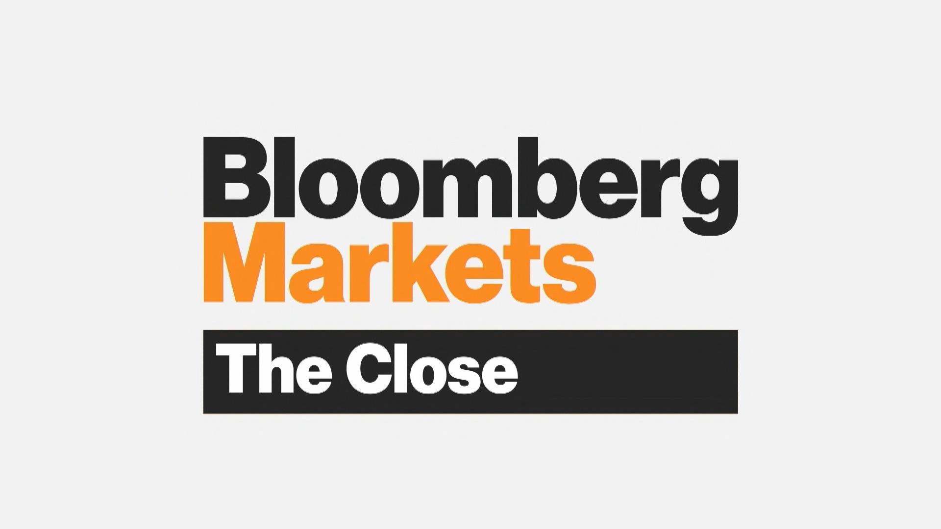 Image result for bloomberg markets close""