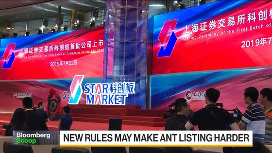 China Weighs Tighter Rules on STAR Board IPOs, Fintech Curbs