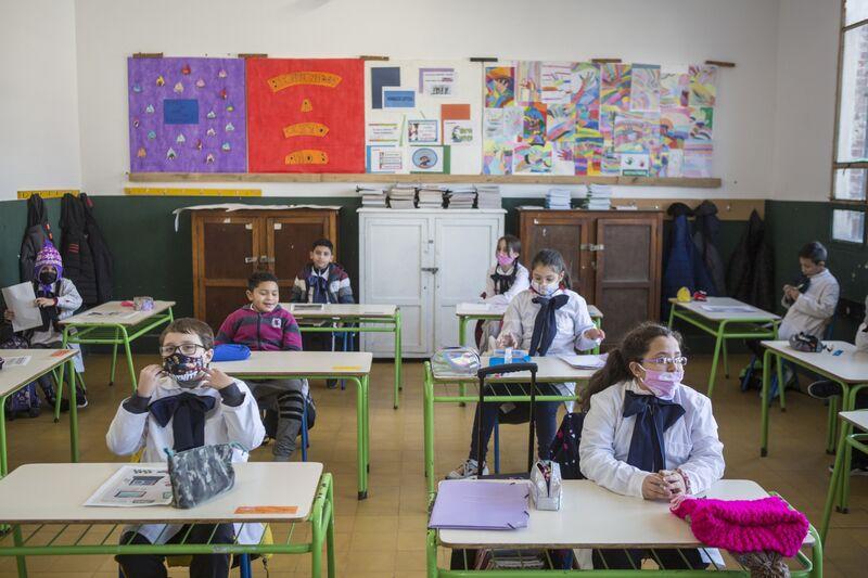Students Get Back To School in Uruguay