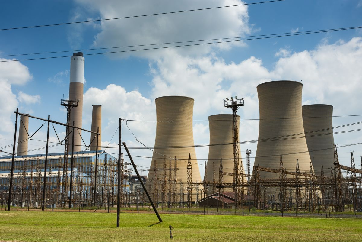 South African Government May Move Eskom to Energy Ministry
