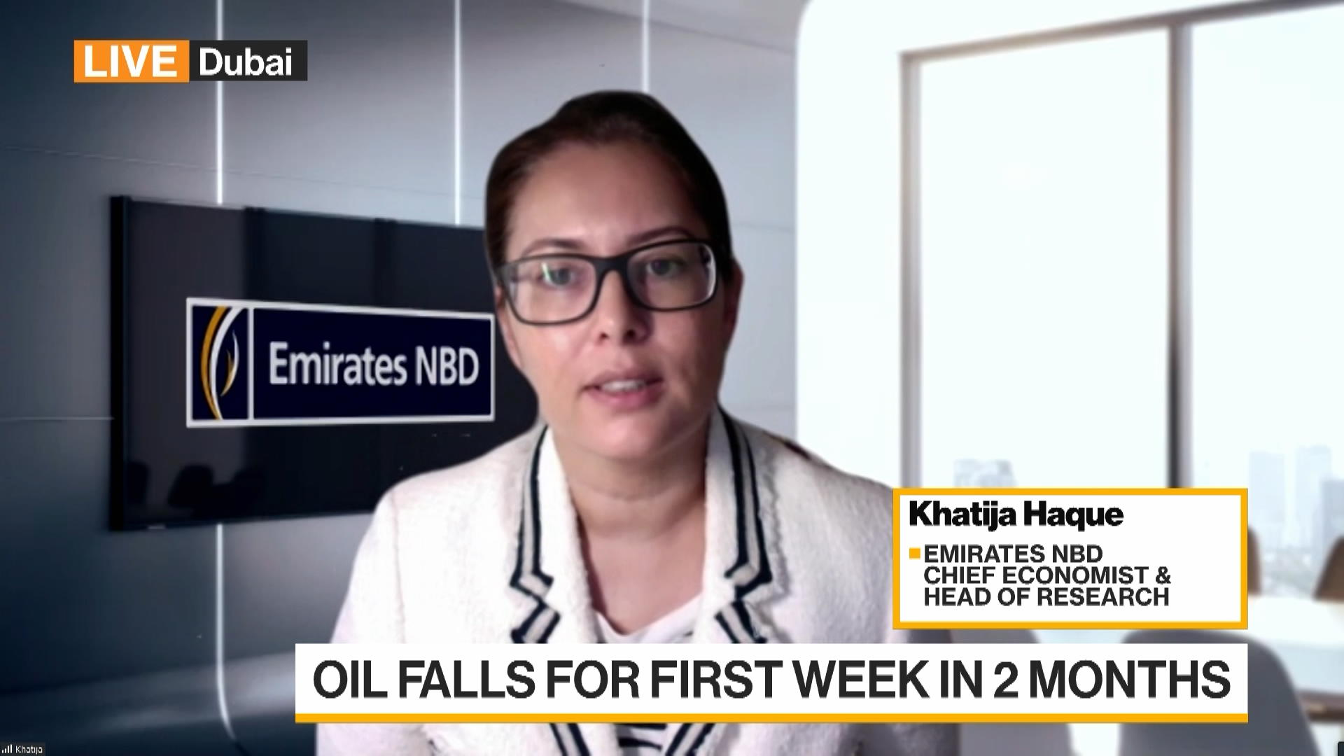 Emirates NBD's Haque Not Convinced $70/Barrel Oil Prices Will Stay