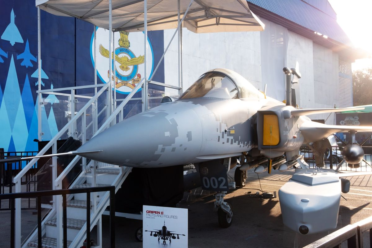 Saab Zeroes In on Fighter Deals After Landmark Brazil Flight