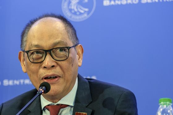 New Philippine Central Bank Chief Makes His Priorities Clear