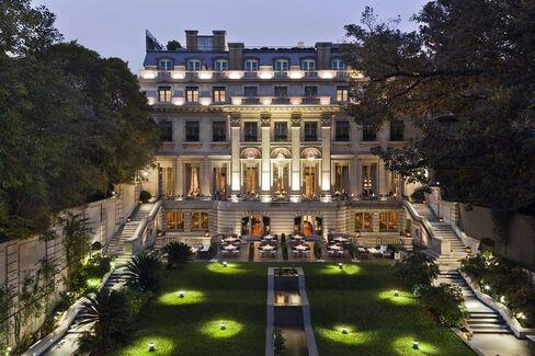 Palacio Duhau in Buenos Aires.