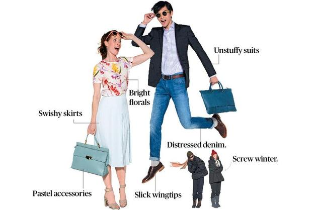 2014 Spring Fashion Office Style Guide Bloomberg