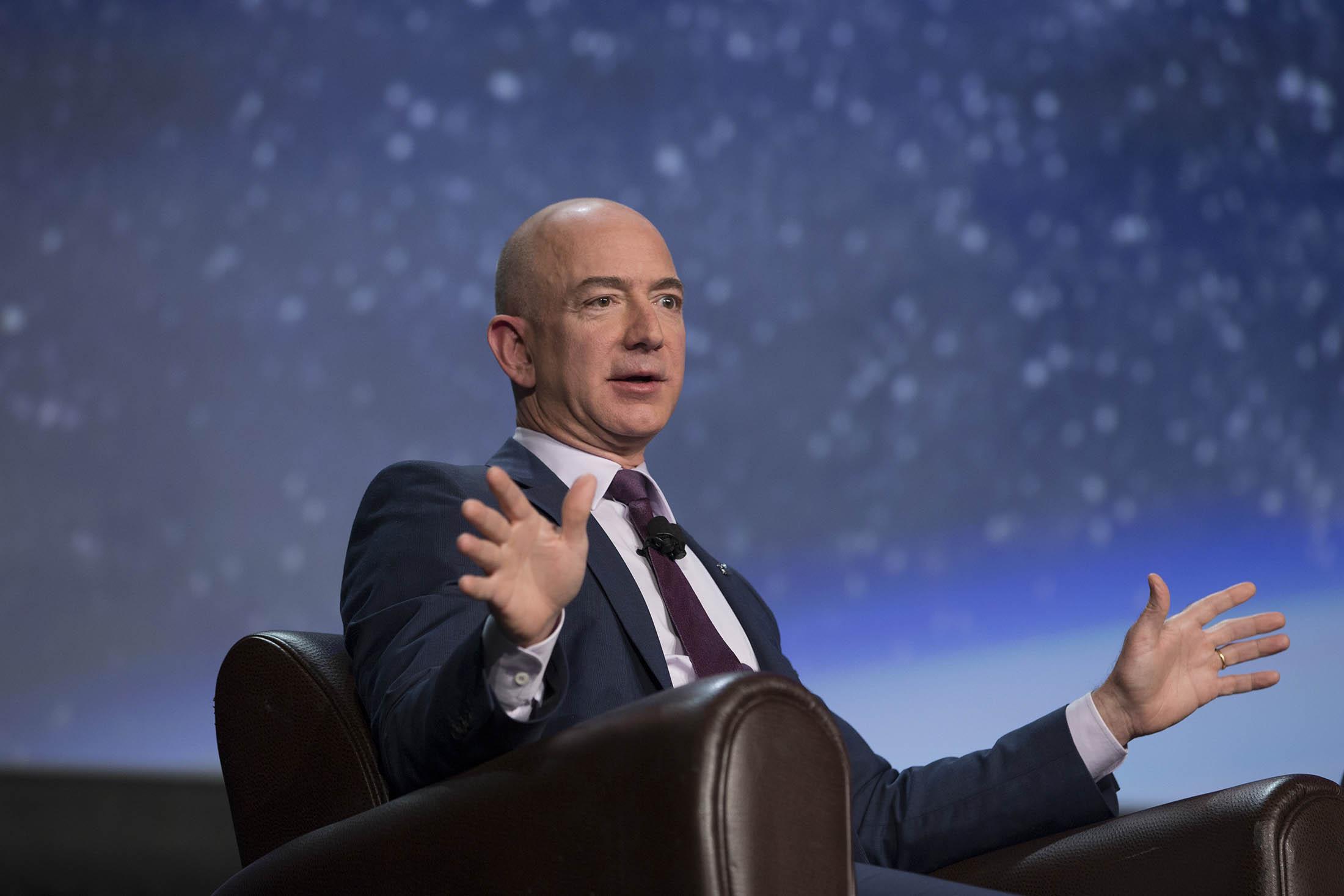 Jeff Bezos Interview - Bloomberg