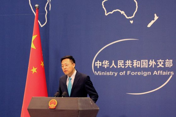 Chinese Official Pushes Conspiracy Theory U.S. Spread Virus