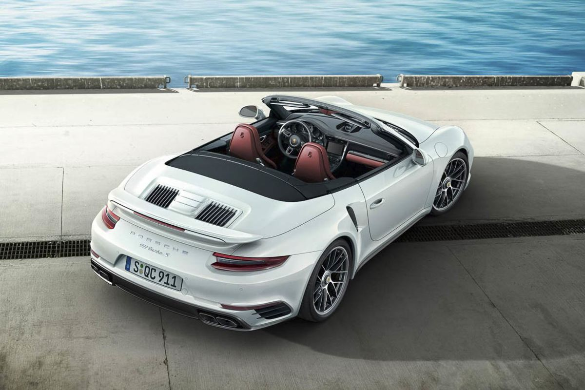 Convertible: Porsche 911 Turbo Cabriolet