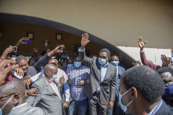 Zambia Opposition Leader Hichilema Leads After High-Turnout Vote