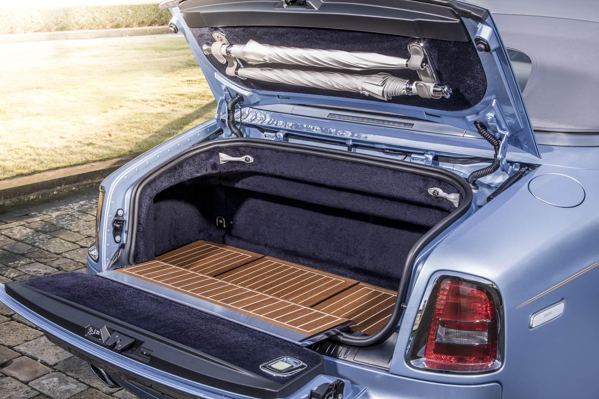 The Rolls-Royce 'Blue Magpie' Phantom Drophead Coupé