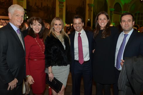 Mario Gabelli, Regina Pitaro, Deirdre and Anthony Scaramucci, Kelly O'Connor and Victor Oviedo
