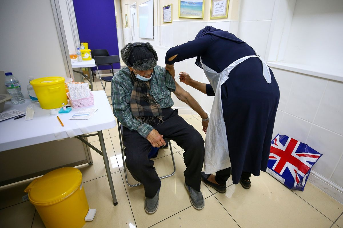 U.K. Has Offered One Vaccine to All Adults; Johnson Urges More