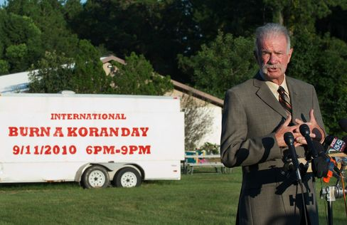 Pastor of the Dove World Outreach Center Terry Jones