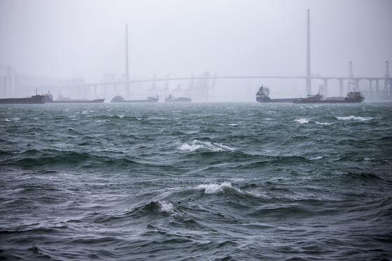 Hong Kong On Lockdown as Typhoon Mangkhut Arrives