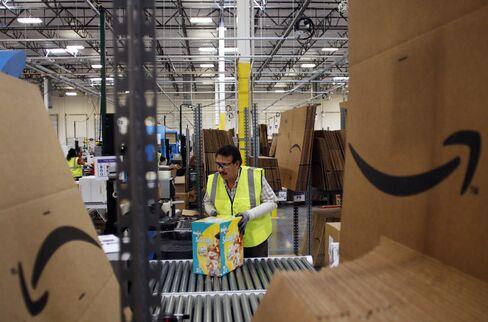 Amazon Picks U.S. State Sales-Tax Winners as Congress Stands Pat