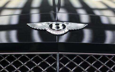 Volkswagen's Luxury Bentley Unit's Sales Jump 37% on China