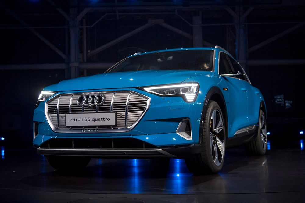 Audi Holds California E Tron Party As It Takes Aim At Tesla Bloomberg