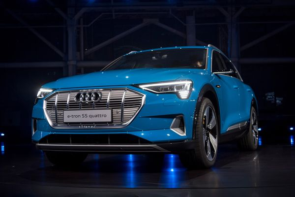 Audi Holds California ETron Party As It Takes Aim At Tesla Bloomberg - Audi