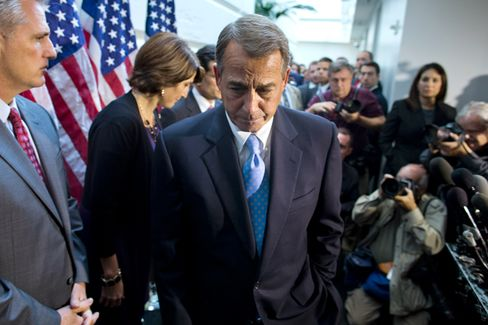 Three Political Reasons for Boehner to Finally Ditch the Tea Party