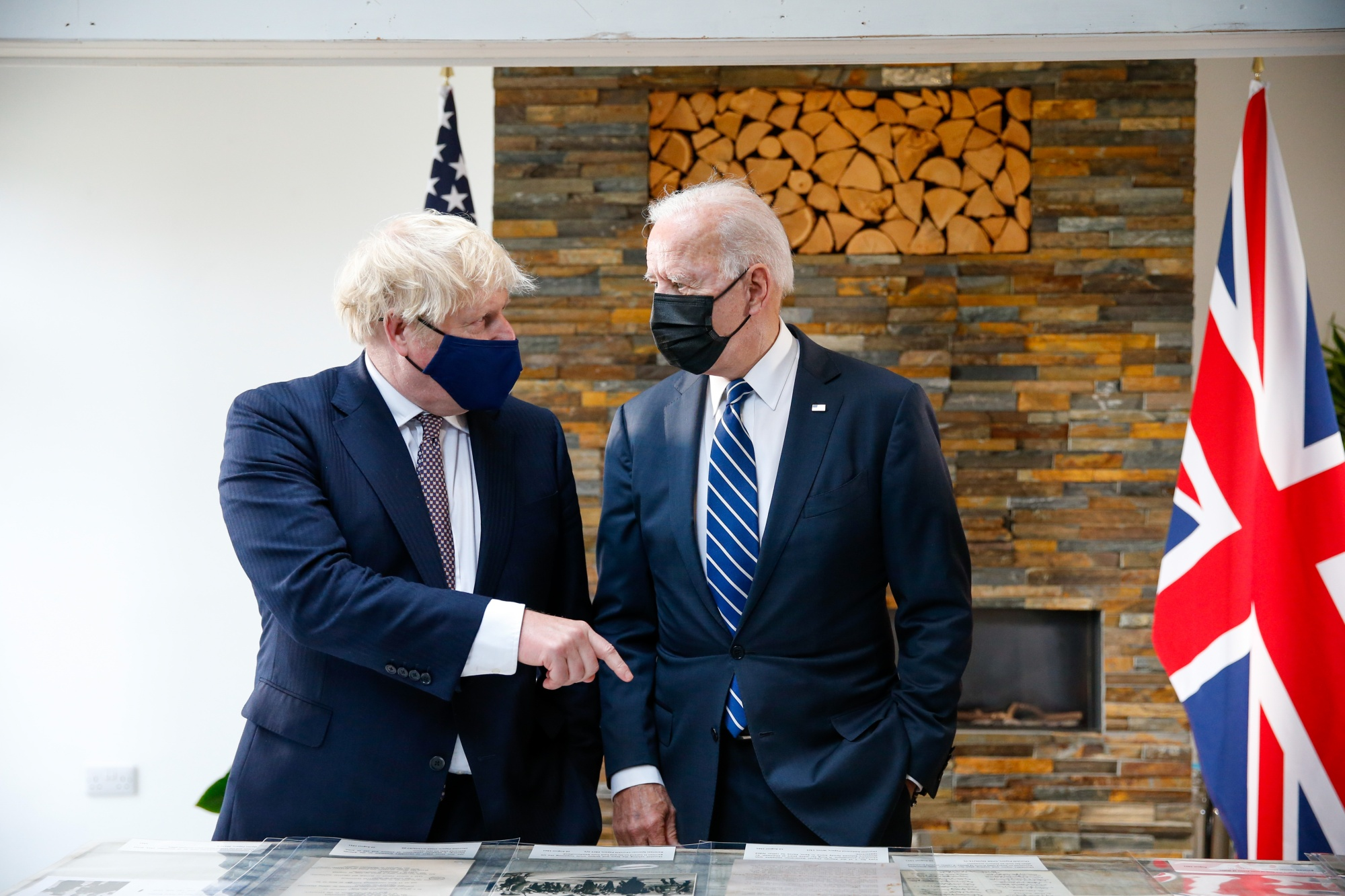 U.K. PM Johnson Hosts U.S. President Joe Biden Ahead Of G-7 Summit