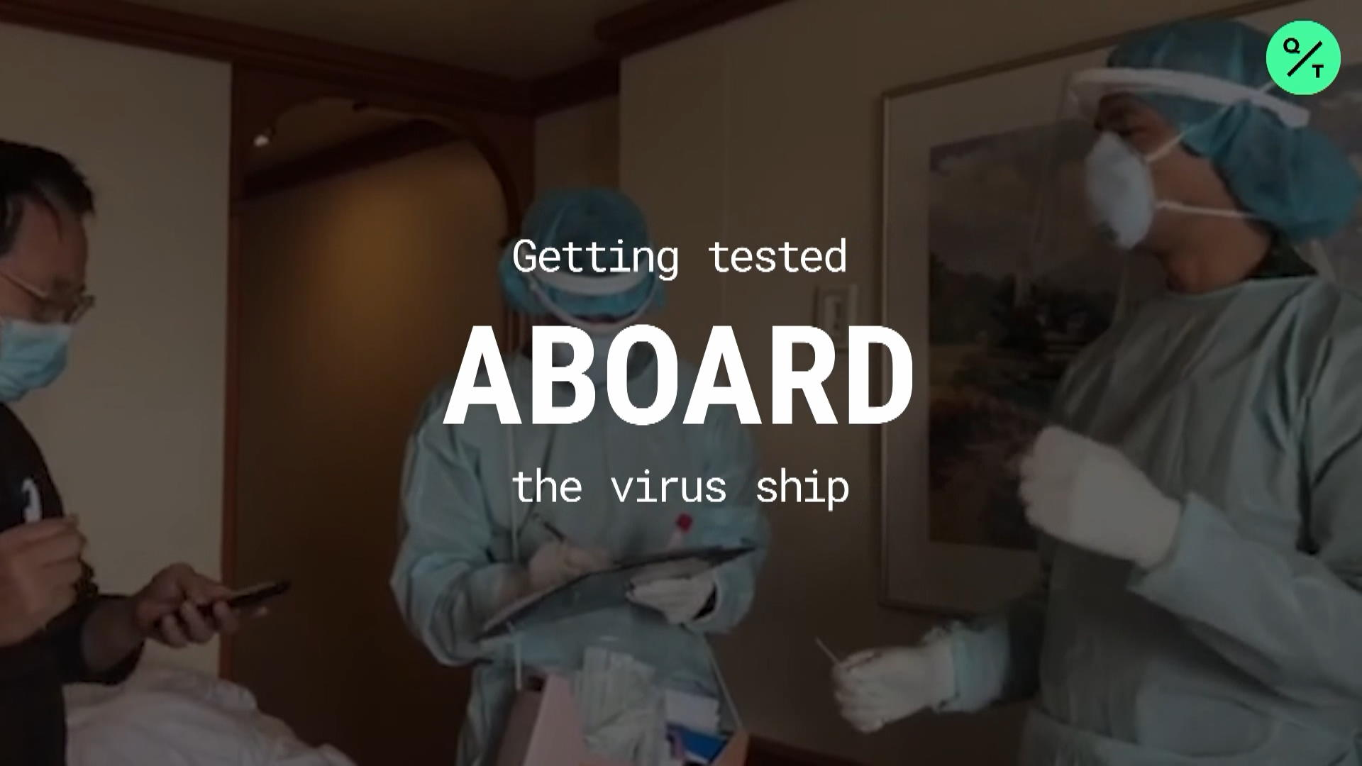Getting Tested aboard the Virus Ship