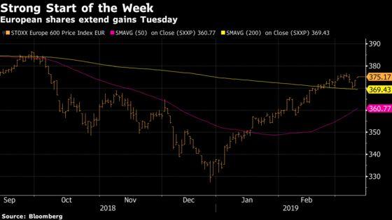 European Shares Jump; British Stocks Drop Ahead of Brexit Vote
