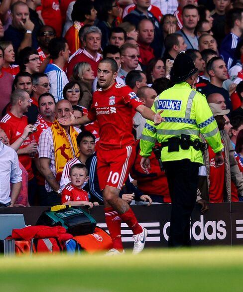 Liverpools Joe Cole