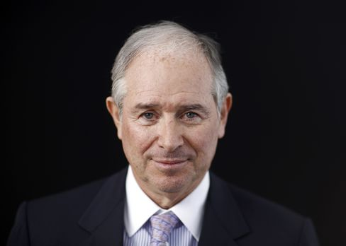 Blackstone Group Chairman and CEO Stephen Schwarzman
