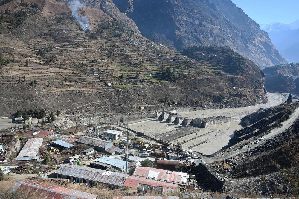 INDIA-CLIMATE-GLACIER-FLOOD