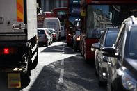 Commuter Traffic As London's Toxic Smog Triggers Business Action Against Illegal Air